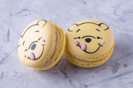 Macarons cu decor VINNIE THE POOH