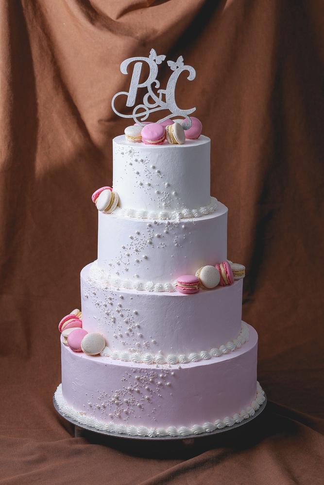 Tort Pentru Nunta Cu Macarons Dulcinella торты на заказ десерты