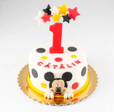 Tort cu Mickey Mouse